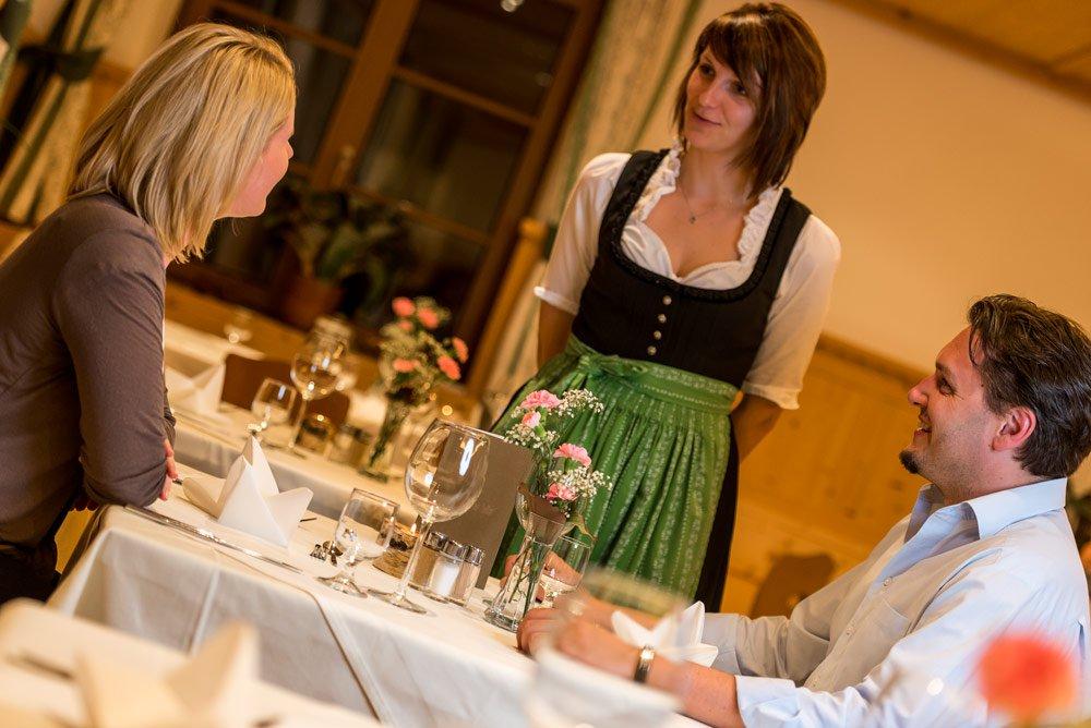 Südtiroler Gastfreundschaft in Lüsen